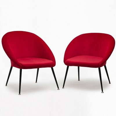 Pair of 'Olympia 1' armchairs, 1960's