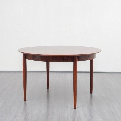 Extendable dining table in rosewood by Lübke-Germany, 1960s