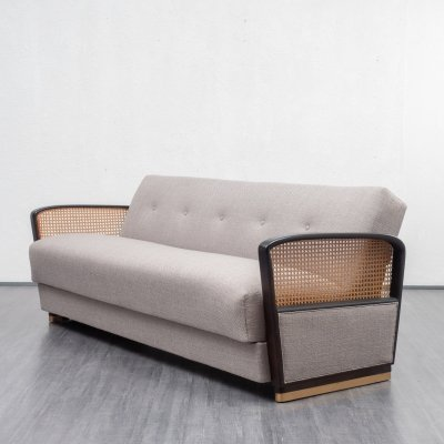 1950s sofa with fold-out function