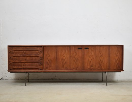 Rosewood sideboard by Oswald Vermaercke for V-Form, Belgium 1950's