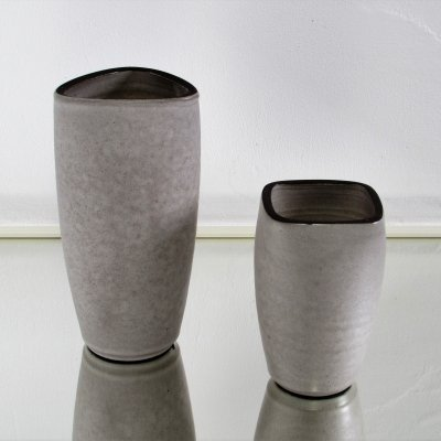 Pair of Dutch Design Vases by Jaap Ravelli, 1950s