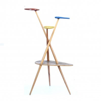 Plant stand inspired by Expo Brussels 1958