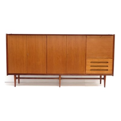 Large vintage sideboard / highboard by Bartels