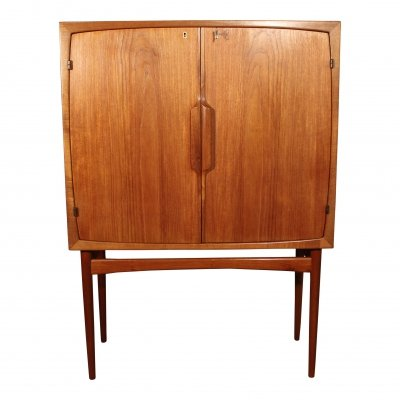 Vintage scandinavian teak 'Bacchus' bar by Torbjorn Afdal for Mellemstrands, 60s