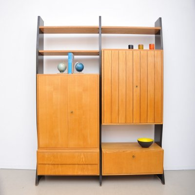 Wall unit by Erich Stratmann for Idee Möbel, 1950s