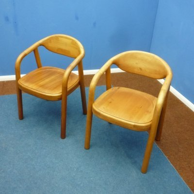 Pair of Danish Teak Armchairs from Korup Stolefabrik, 1970s