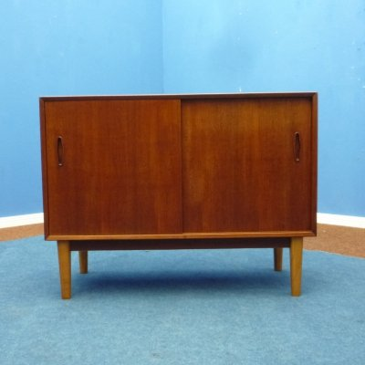 Mid-Century Teak Sideboard by Kajsa & Nils Strinning for String
