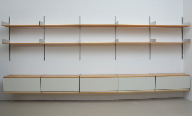 Model 606 wall unit by Dieter Rams for Vitsoe, 1960s