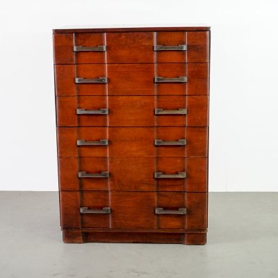 Art Deco chest with 6 drawers, 1950s