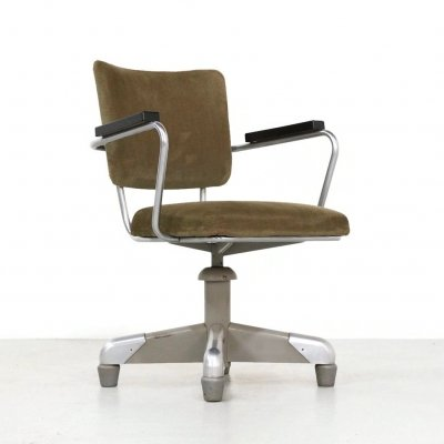 358 P office chair by Christoffel Hoffmann for Gispen, 1950s