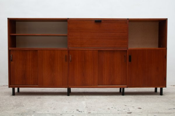 Sideboard with secretary compartment by Cees Braakman for Pastoe