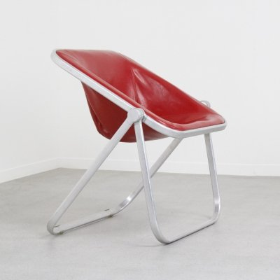 Plona lounge chair by Giancarlo Piretti for Castelli, 1960s