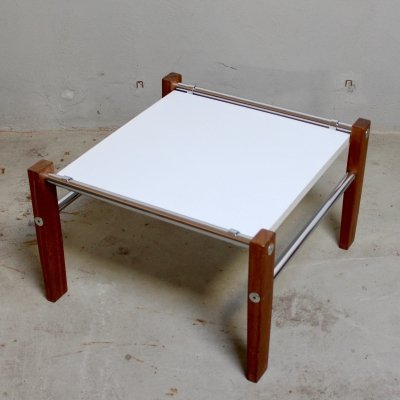 Adjustable coffee table by Maurice Burke for Arkana