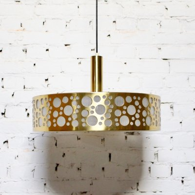 Vintage Brass hanging lamp, 1960
