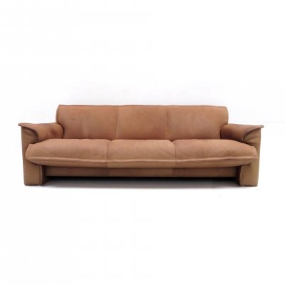 Vintage sofa by Leolux made from buffel leather