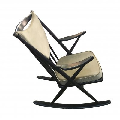 Model 182 Rocking Chair by Frank Reenskaug for Bramin, 1960s