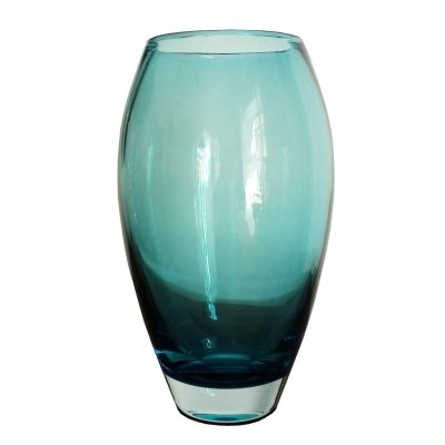 1960s Blue Murano glass vase