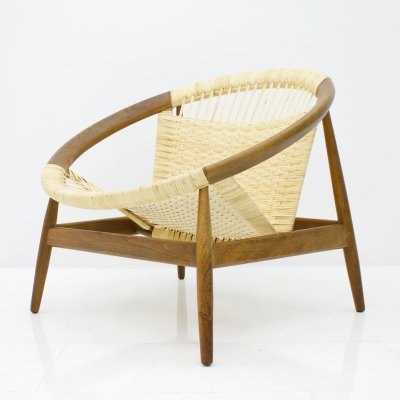 Ring Chair by Illum Wikkelsø, 1950s