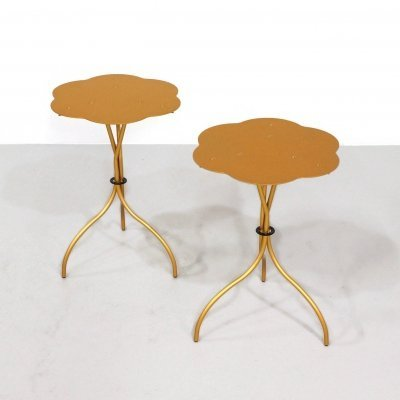 Pair of Cipango side tables by Emaf Progetti for Zanotta, 1980s