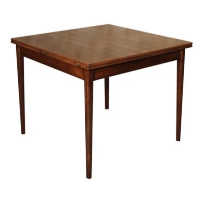 Vintage teak 'Flip top' dining table by Borge Mogensen, 1960s