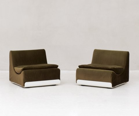 Set of two chairs by Luigi Colani for COR Sitzcomfort, Germany 1970s