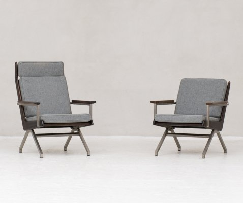 Set of easy chairs by Rob Parry for De Ster Gelderland