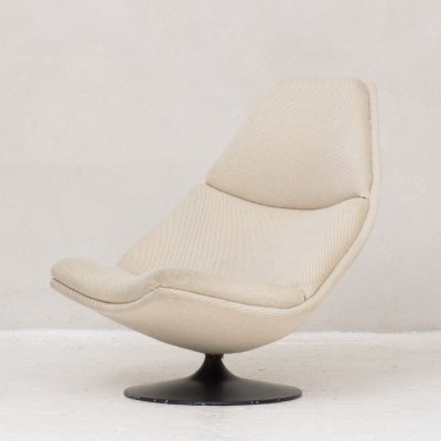 Model F510 lounge chair by Geoffrey Harcourt for Artifort
