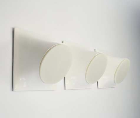 3 x Abstract wall lamp by Giotto Stoppino for Raak Amsterdam, 1960s