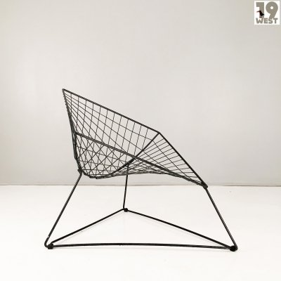 OTI wire lounge chair by Niels Gammelgaard for Ikea
