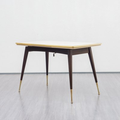 Height-adjustable dining table, 1950s