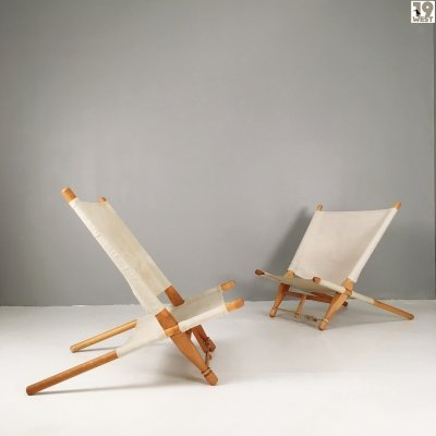 Two Saw chairs by Ole Gjerløv Knudsen for France & Son
