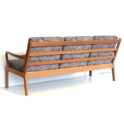 Danish design vintage 3-seater sofa by L. Olsen & Son, 1960s