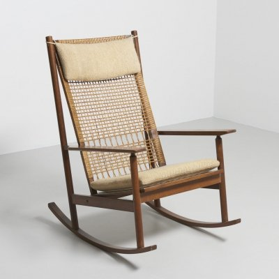 Rocking chair by Hans Olsen for Juul Kristensen
