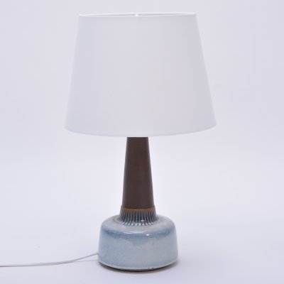 Vintage Ceramic Table Lamp by Einar Johansen for Soholm Stentoj
