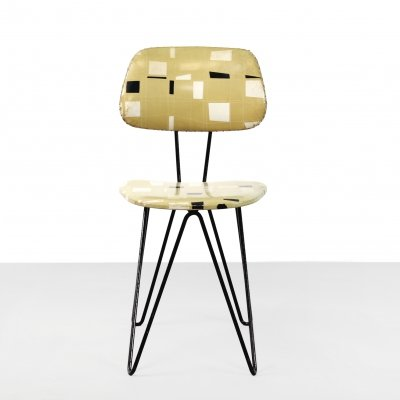 Pastoe SM01 desk chair by Cees Braakman, 1950s