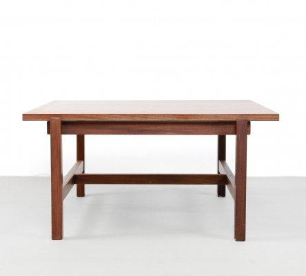 Square Pastoe Japanese series coffee table in Teak
