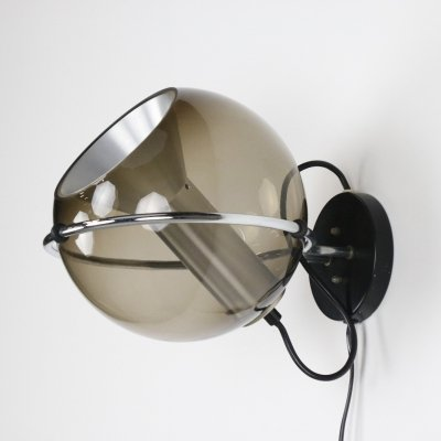 C-1512.20 Globe wall lamp by Frank Ligtelijn for Raak Amsterdam, 1960s