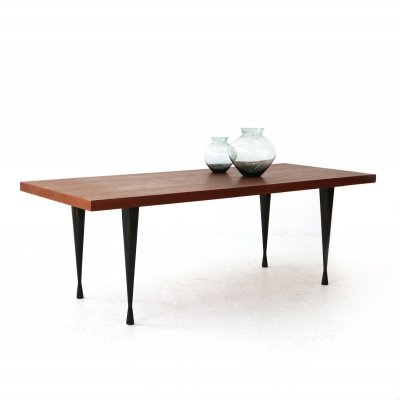 Mid-Century Modern Teak Coffee Table, 1960s