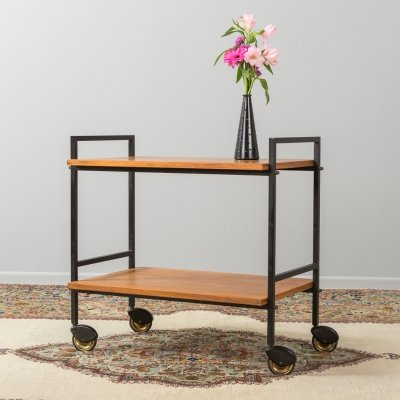 German serving trolley from the 1960s