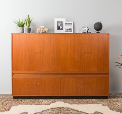 German highboard with bar compartment, 1960s