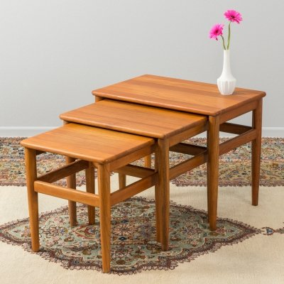 Danish nesting tables from the 1960s