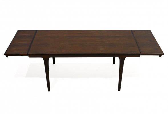 Rosewood Dining Table by Ib Kofod-Larsen for Faarup Mobelfabrik