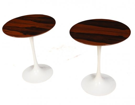 Pair of Vintage Rosewood Side Tables by Maurice Burke for Arkana, c1960