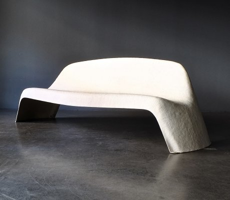 Model 1000 (Bear Bank) bench by Walter Papst for Wilkhahn, 1960s