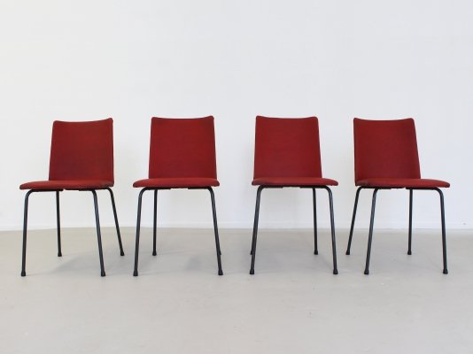 Set of 4 dining chairs by Hein Salomonson for AP Originals, 1960s