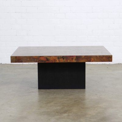 2 x Bernard Rohne coffee table, 1960s