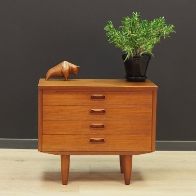 Teak vintage chest of drawers