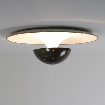 Rare Model 155 ceiling lamp by Gino Sarfatti for Arteluce, Italy 1950s