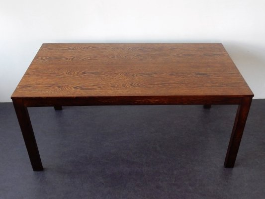 Vintage wengé dining table, 1960's / 1970's
