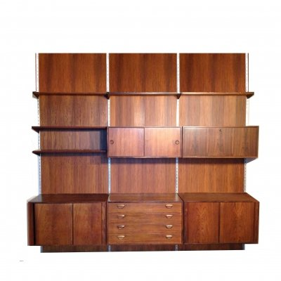 Rare vintage wall unit by Kai Kristiansen